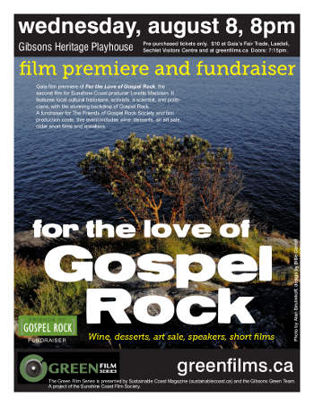 For the Love of Gospel Rock film event poster