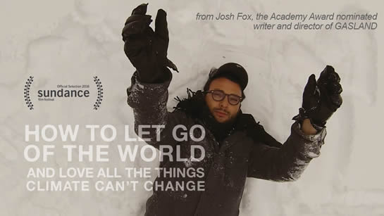 'How to let go of the world and love the things climate can't change' - Mon Oct 10 Gibsons Heritage Playhouse, Thur Oct 13 Sechlet, SC Art Centre
