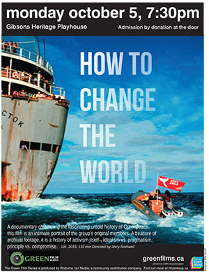 Poster of How to Change the World