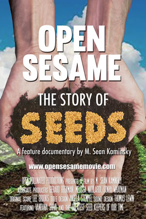 'Open Sesame: The story of seeds' GREEN FILM SERIES Thurs March 26, Roberts Creek Hall