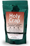 Holy Crap Cereal: produced by Hapi Foods of Sechelt BC